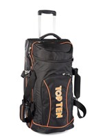 Trolley TOP TEN Deluxe Travel - Jumbo Nero/Arancio