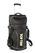 Trolley TOP TEN Deluxe Travel - Jumbo Nero/Verde