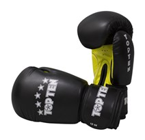 "Guantoni Kickboxing TOP TEN ""R2M 2016"" Nero/Giallo 10 Oz"