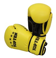 "Guantoni Kickboxing TOP TEN ""R2M 2016"" Giallo/Nero 10 Oz"