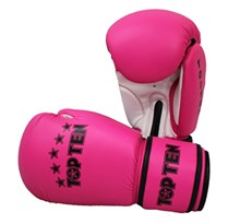 "Guantoni Kickboxing TOP TEN ""R2M 2016"" Rosa/Bianco 10 Oz"
