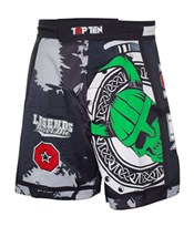 "Pantaloncini TOP TEN MMA ""Vikings"" Verde"