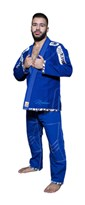 "Uniforme TOP TEN Brazilian Jiu-Jitsu ""Mohicans"" Blu"