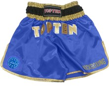 Pantaloncini Kickboxing TOP TEN WAKO Blu