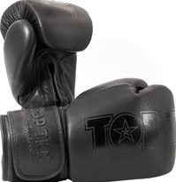 "Guantoni Boxe TOP TEN ""Black'n'Black"""
