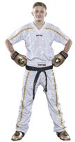 "Pantaloni Kickboxing TOP TEN MESH ""Star-Collection"""